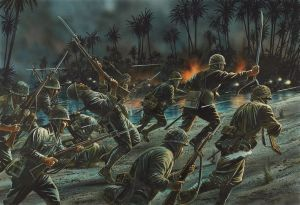Japanese_Night_Attack_Guadelcanal_Peter_Dennis